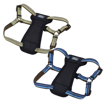 The Coastal® K9 Explorer® Reflective Adjustable Padded Dog Harness I006406b