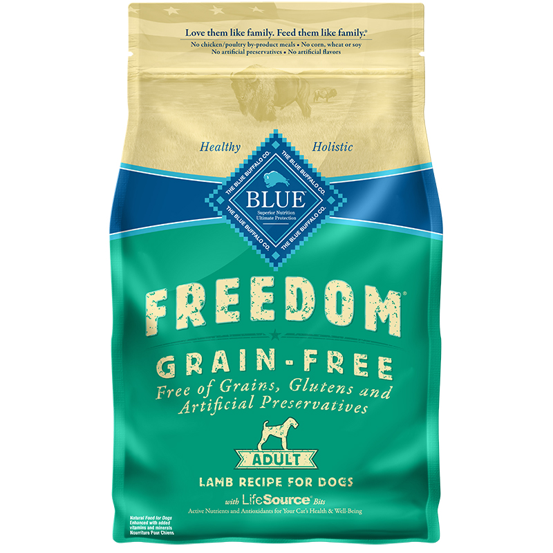 Blue Buffalo BLUE Freedom Grain-Free Lamb Recipe for Adult Dogs I006558b