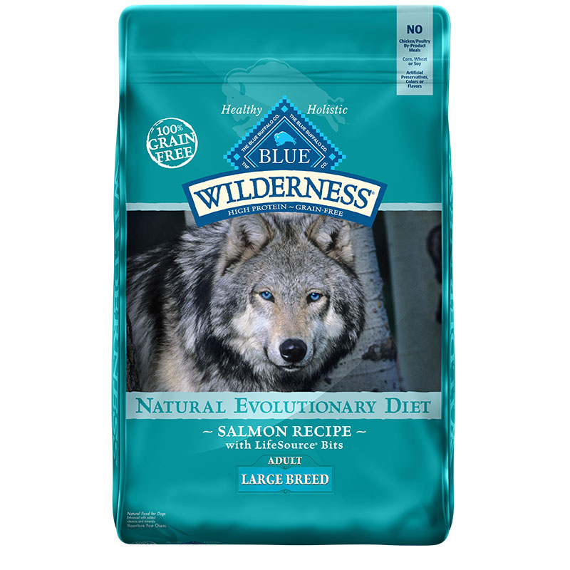 Blue Buffalo BLUE Wilderness®Salmon Recipe for Large Breed Dogs 24 lbs. I006563