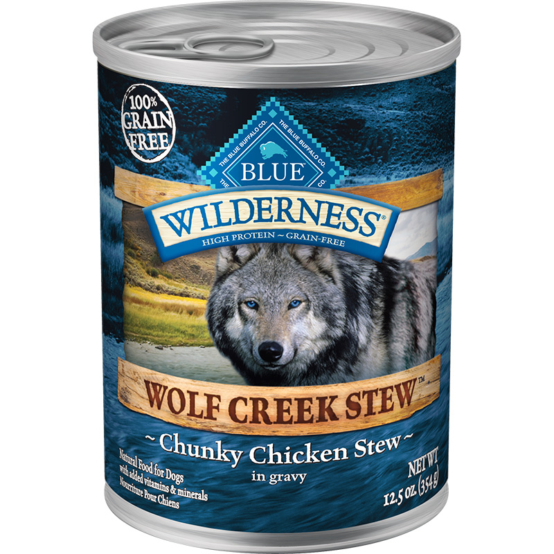 Blue Wilderness Wolf Creek Stew Chunky Chicken Stew in Gravy 12.5 oz. I006564