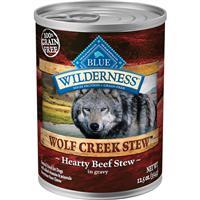Blue Wilderness Wolf Creek Stew Hearty Beef Stew in Gravy 12.5 oz. I006566