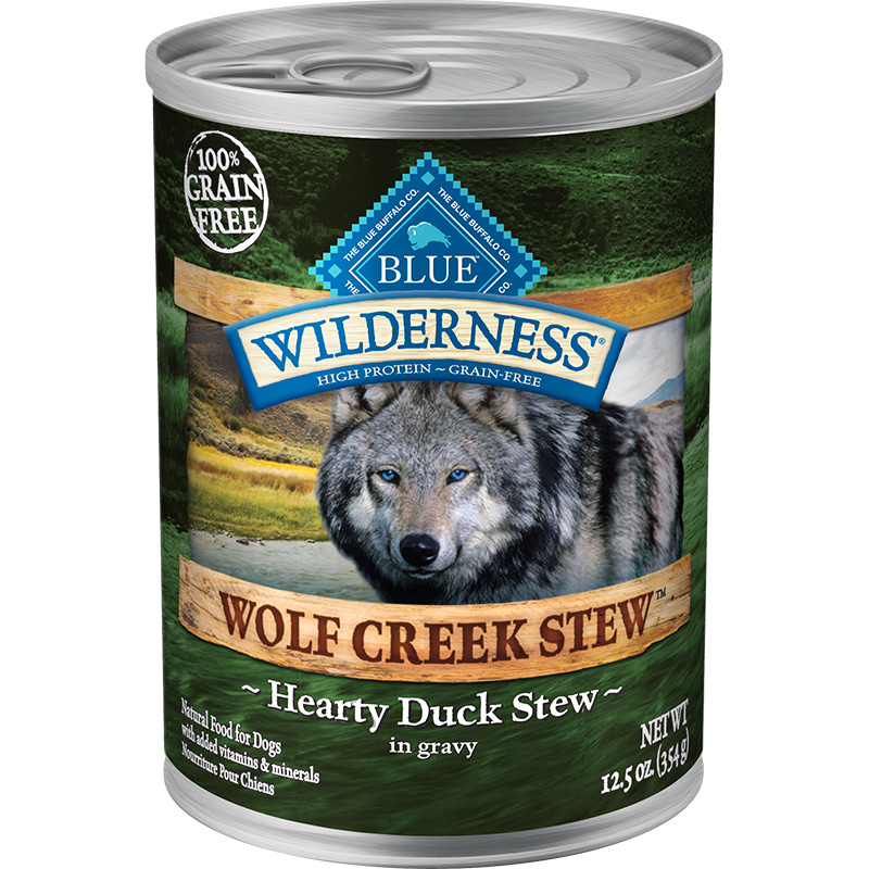 Blue Wilderness Wolf Creek Stew Hearty Duck Stew in Gravy 12.5 oz I006567