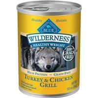 Blue Wilderness Healthy Weight Turkey & Chicken Grill For Adult Dogs 12.5 oz I006568