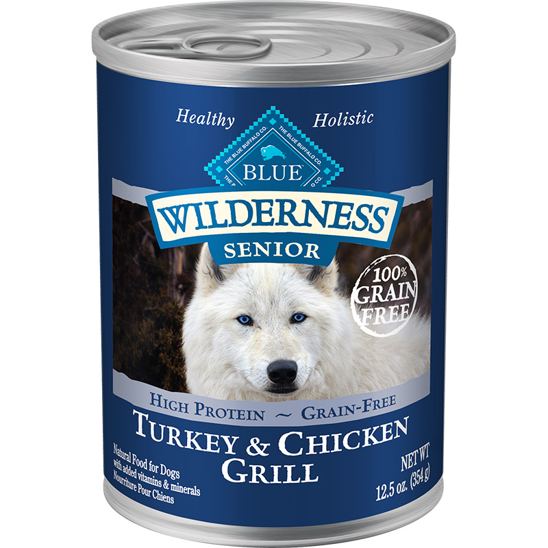 Blue Wilderness Senior Turkey & Chicken Grill 12.5 oz I006569