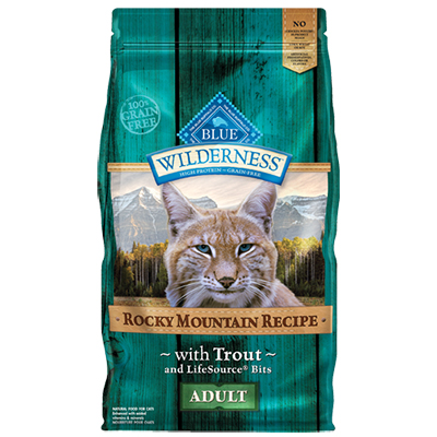 BLUE Wilderness® Rocky Mountain Recipe™ with Trout 4 lb.  I006593