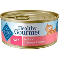 Blue Buffalo Healthy Gourmet Pate Indoor Salmon Entrée for Cats 5.5 oz.  I006755
