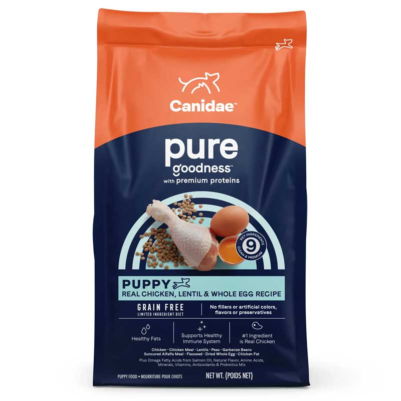CANIDAE® Grain Free Pure Foundations Dry Puppy Formula Dog Food I006768b
