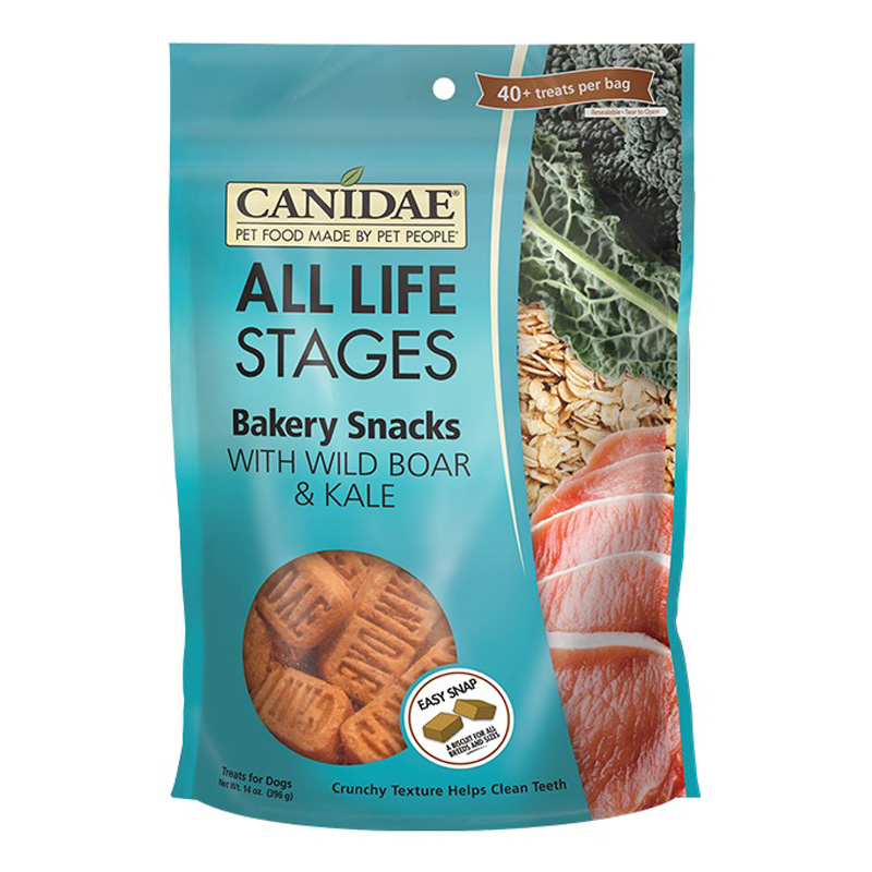 CANIDAE® Life Stages Bakery Snacks Dog Treats Wild Boar & Kale 14 oz. I006868