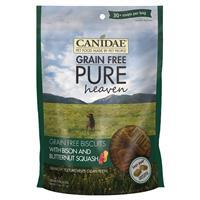 CANIDAE Grain Free PURE Bison & Butternut Squash Dog Biscuits 11 oz. I006869