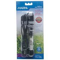 "Marina Submersible Aquarium Heater - Mini 50 W - 15 cm (6"")  I006898"