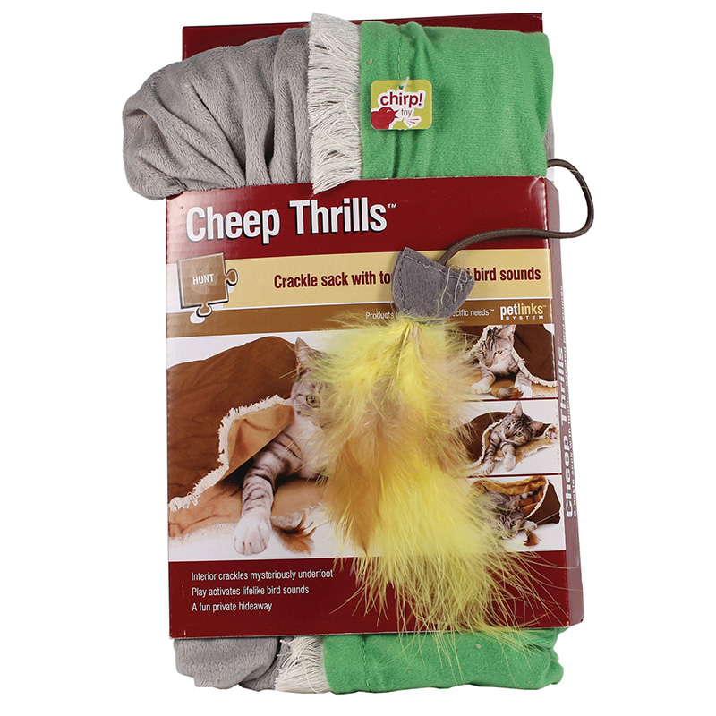 Petlinks® Cheep Thrills Crackle Sack I007307