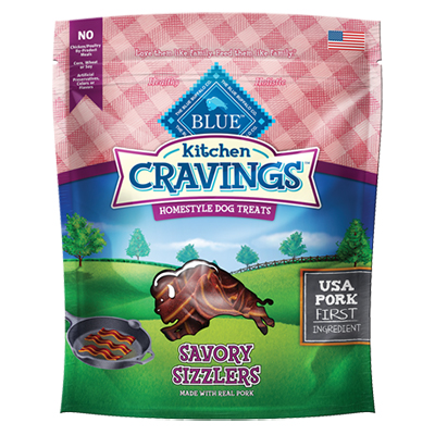 BLUE Kitchen Cravings™ Savory Sizzlers Pork 6 oz.  I007487