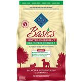 Blue Buffalo BLUE Basics Grain-Free Salmon & Potato Dog Food I007534b