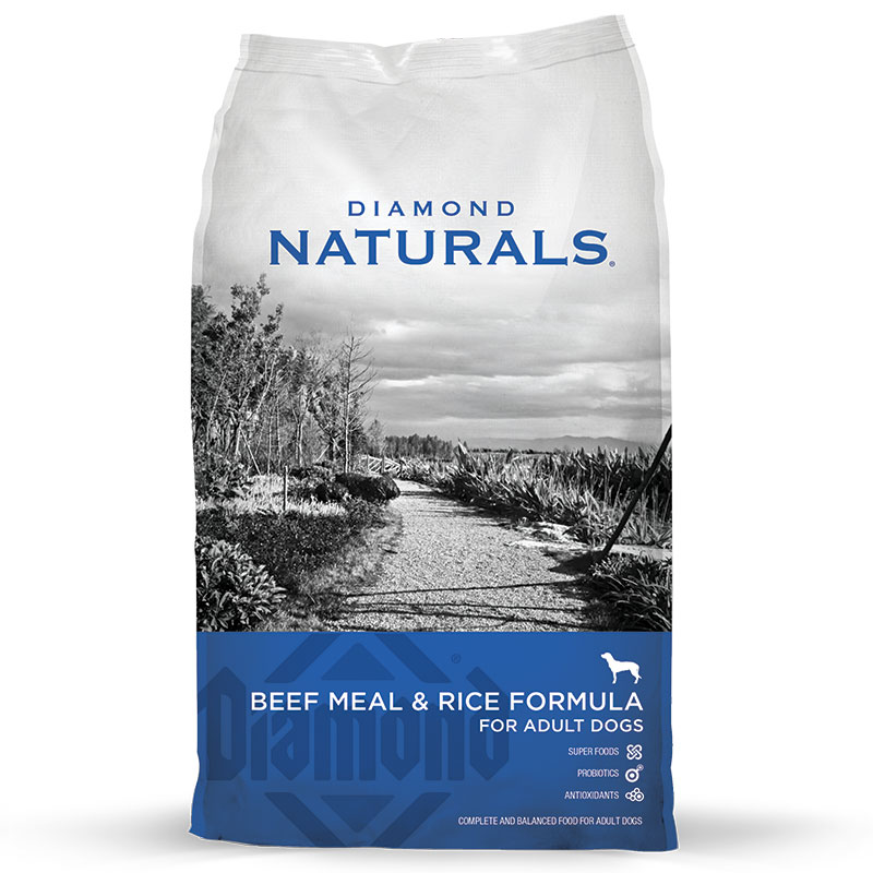 Diamond® Naturals Beef Meal & Rice Adult Dog Food 40 lbs. I007769
