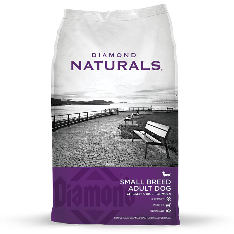 Diamond® Naturals Small Breed Adult Dog Chicken & Rice 6 lbs. I007770