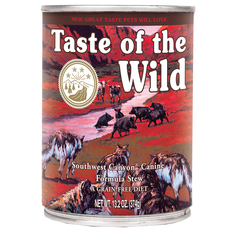 Taste of the Wild® Southwest Canyon® Canine Formula Stew 13.2 oz. I008340