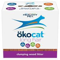 Okocat Natural Wood Cat Litter for Long Hair Breeds  I008530b