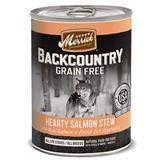 Merrick® Backcountry™ Hearty Salmon Stew Dog Food Can 12.7 Oz.  I008417
