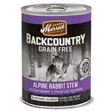 Merrick® Backcountry™ Alpine Rabbit Stew Dog Food Can 12.7 Oz.  I008419
