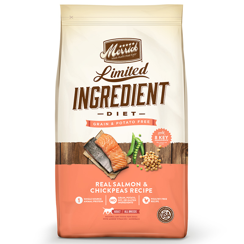 Merrick® Limited Ingredient Diet Real Salmon & Sweet Potato Recipe Dog Food I008433b