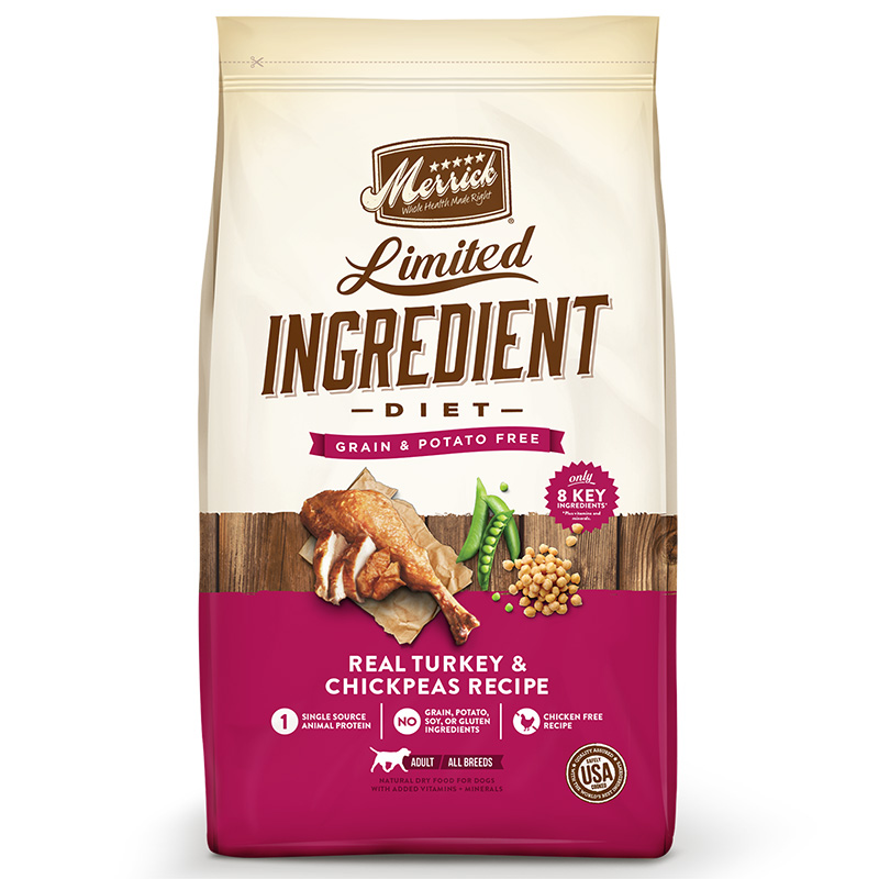 Merrick® Limited Ingredient Diet Real Turkey & Sweet Potato Recipe Dog Food  I008435b