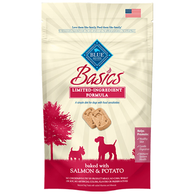 BLUE Basics® Salmon & Potato Biscuits 6 Oz.  I008611