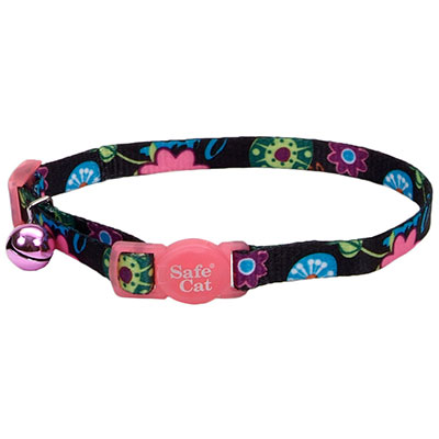 Coastal® Safe Cat Fashion Adjustable Breakaway Collar Wild Flower I008839
