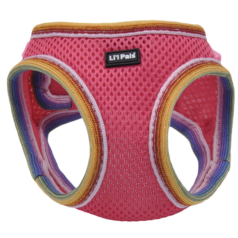 Coastal Lil' Pals Comfort Mesh Dog Harness Bright Pink  I008883b