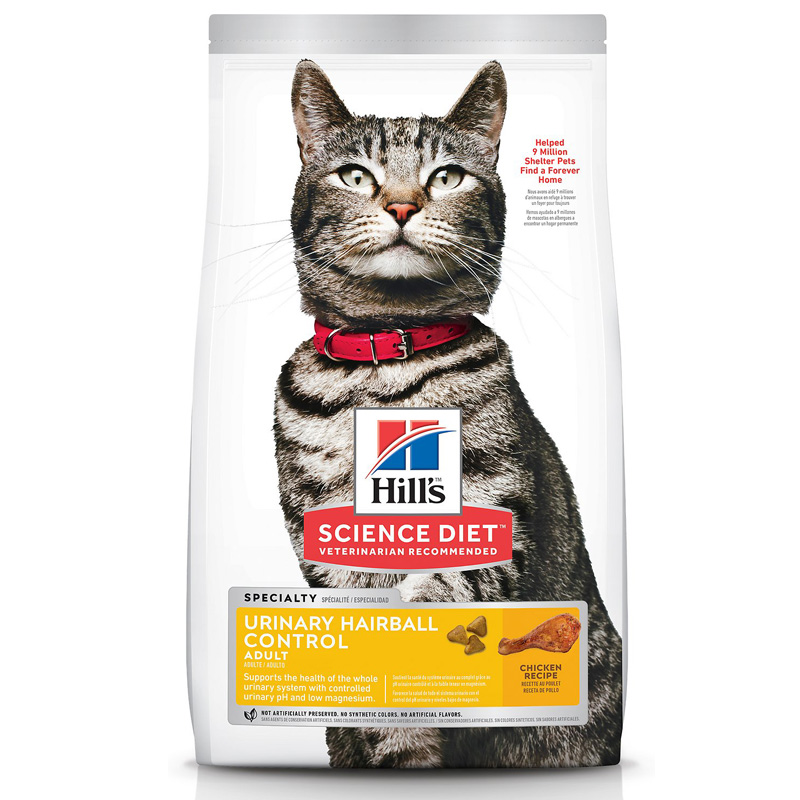 Hill's® Science Diet® Adult Urinary Hairball Control 3.5lbs. I009078