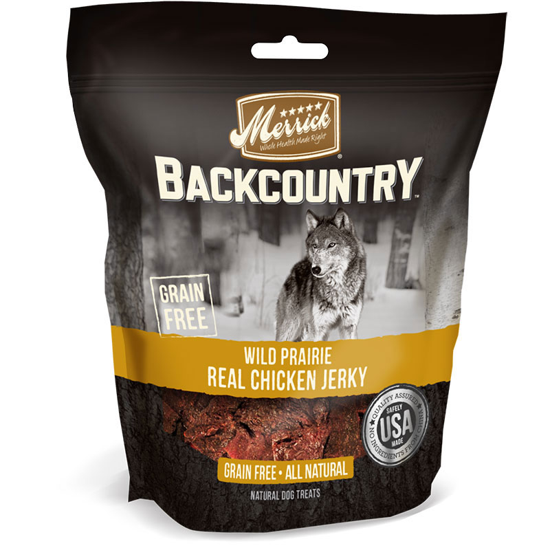 Merrick® Backcounty™ Wild Prairie Real Chicken Jerky 4.5 oz. I009115