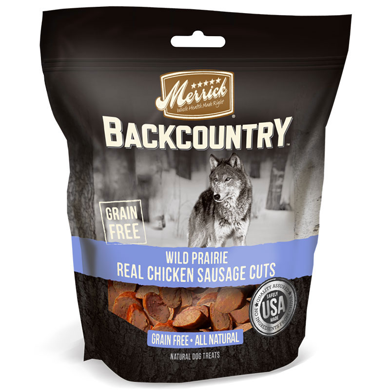 Merrick® Backcounty™ Wild Prairie Real Chicken Sausage Cuts 5 oz. I009118