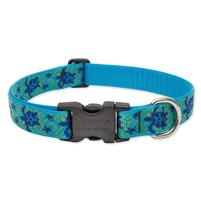 Lupine® Turtle Reef Patterned Collars and Leads I009456b