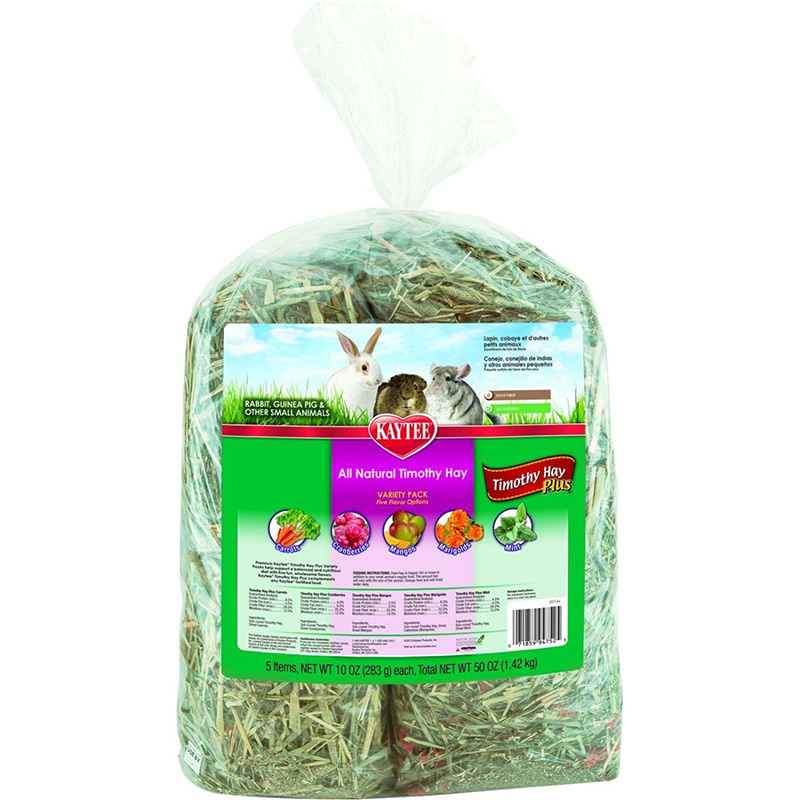 Kaytee Timothy Hay Plus Variety Pack 50 oz. I009465
