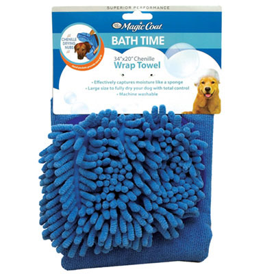 Four Paws® Magic Coat® Wrap Towel with Chenille I009574