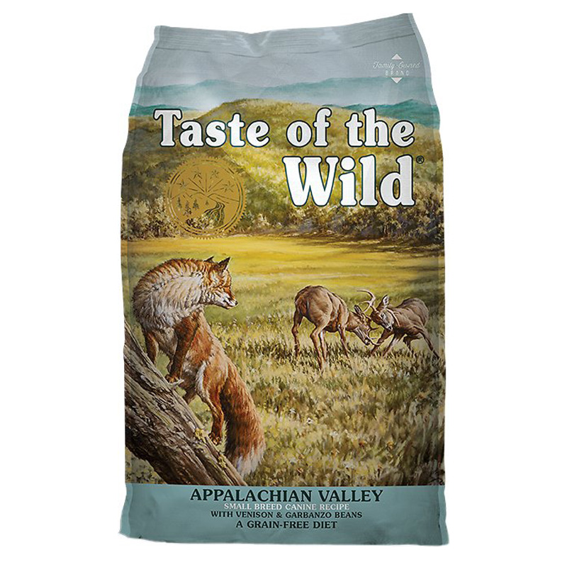 Taste of the Wild®Appalachian Valley™ Small Breed Canine Formula with Vension & Garbanzo Beans I009585b