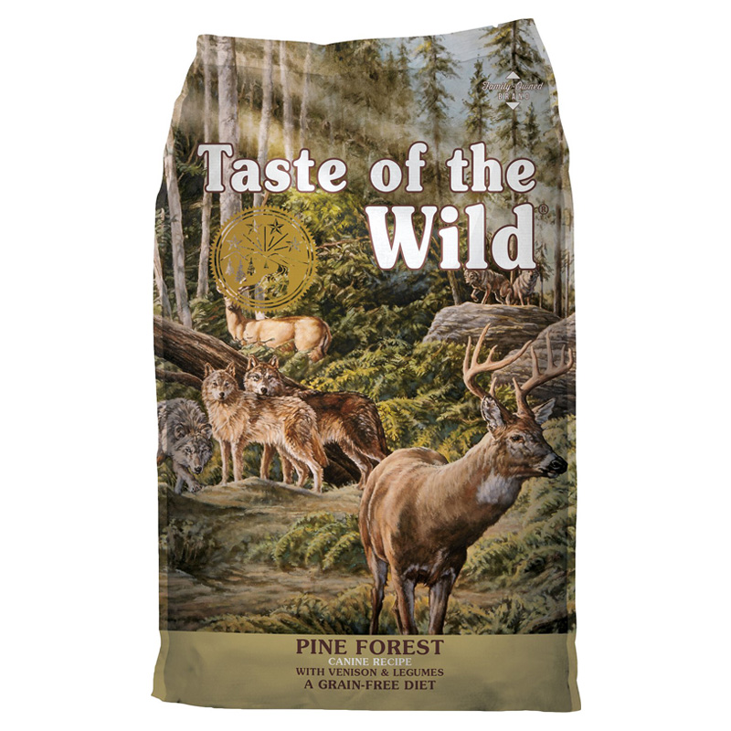 Taste of the Wild® Pine Forest® Canine Formula with Venison & Legumes I009588b