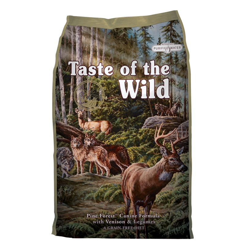 Taste of the Wild®Pine Forest® Canine Formula with Venison & Legumes I009588