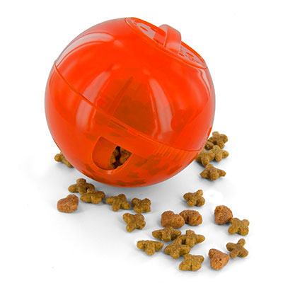PetSafe® SlimCat™ Interactive Feeder Cat Toy Orange I009596