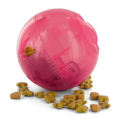 PetSafe SlimCat Interactive Feeder Cat Toy Pink I009597