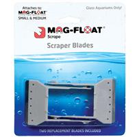 Mag-Float Scraper Blades  2 Pack Replacement for Small /Medium I010111