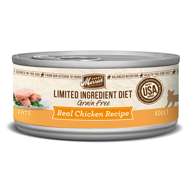 Merrick Limited Ingredient Diet Real Chicken Recipe for Cats 5 oz. I010147