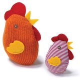 Petlinks Knit Nipper™ Chicken & Chick Catnip Toy I010386