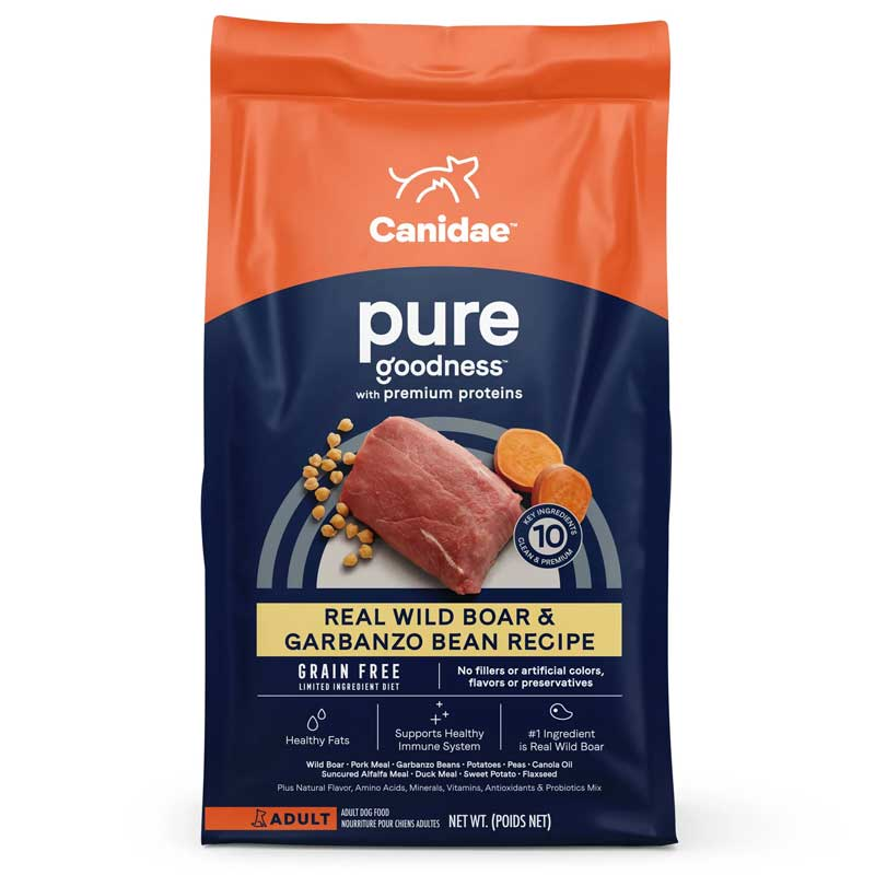 Canidae® Grain Free Pure Wild Adult Formula Dog Food  I010530b