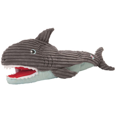 "HuggleHounds® Craig Interactive Shark Puppet Toy 21"" I010605"