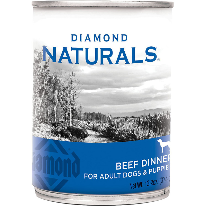 Diamond Naturals Beef Dinner for Adult Dogs & Puppies 13.2 oz. I010716