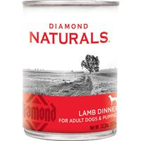 Diamond Naturals Lamb Dinner for Adult Dogs & Puppies 13.2 oz. I010718