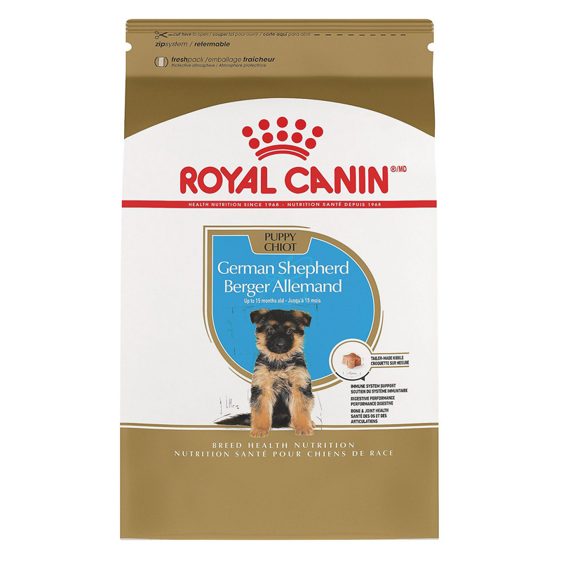 Royal Canin Cerman Shepherd Puppy Dry Dog Food 30 lbs. I010730