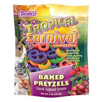 FM Browns Tropical Carnival Baked Pretzels Small Animal Treats I010750