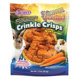 FM Brown's Tropical Carnival® Crinkle Crisps With Carrots Gluten Free Small Animal Treat 1.5 oz. Bag I010752