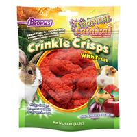 FM Brown's Tropical Carnival Crinkle Crisp Small Animal Treat 1.5 oz. Bag